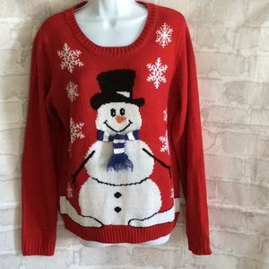 Carolyn Taylor Womens Holiday Sweater